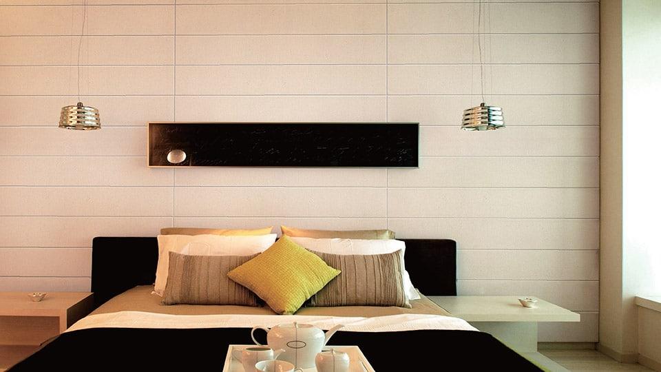 Phomin nahkakuvioiset seinälevyt