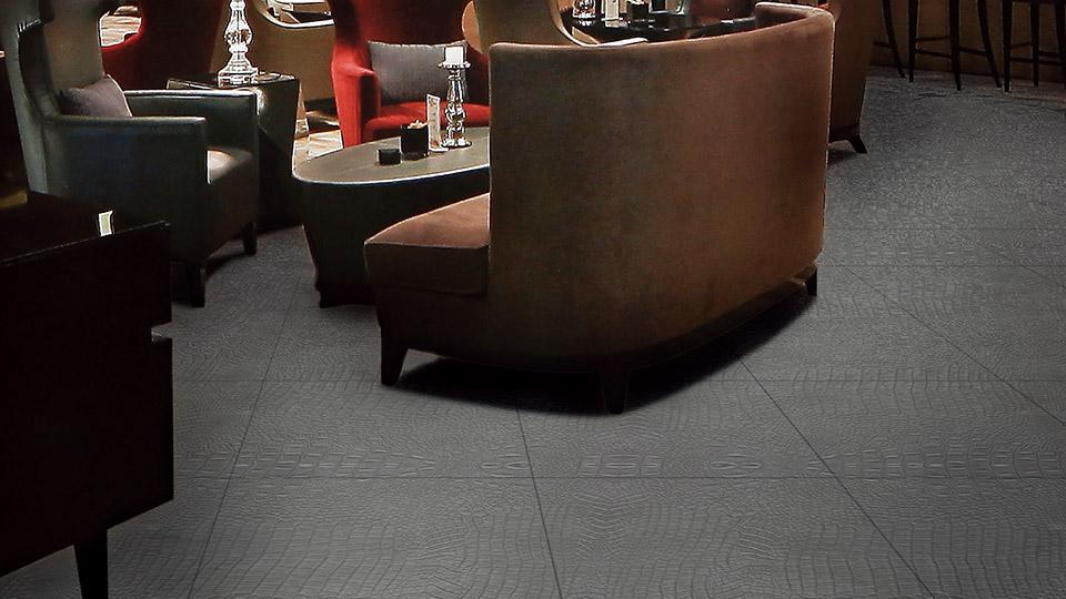 Phomin nahkakuvioiset lattialevyt